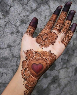 Full hand Mehndi designs pictures and photos