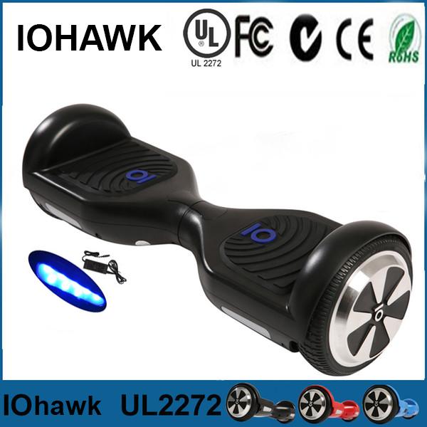 xe điện cân bằng iohawk màu đen