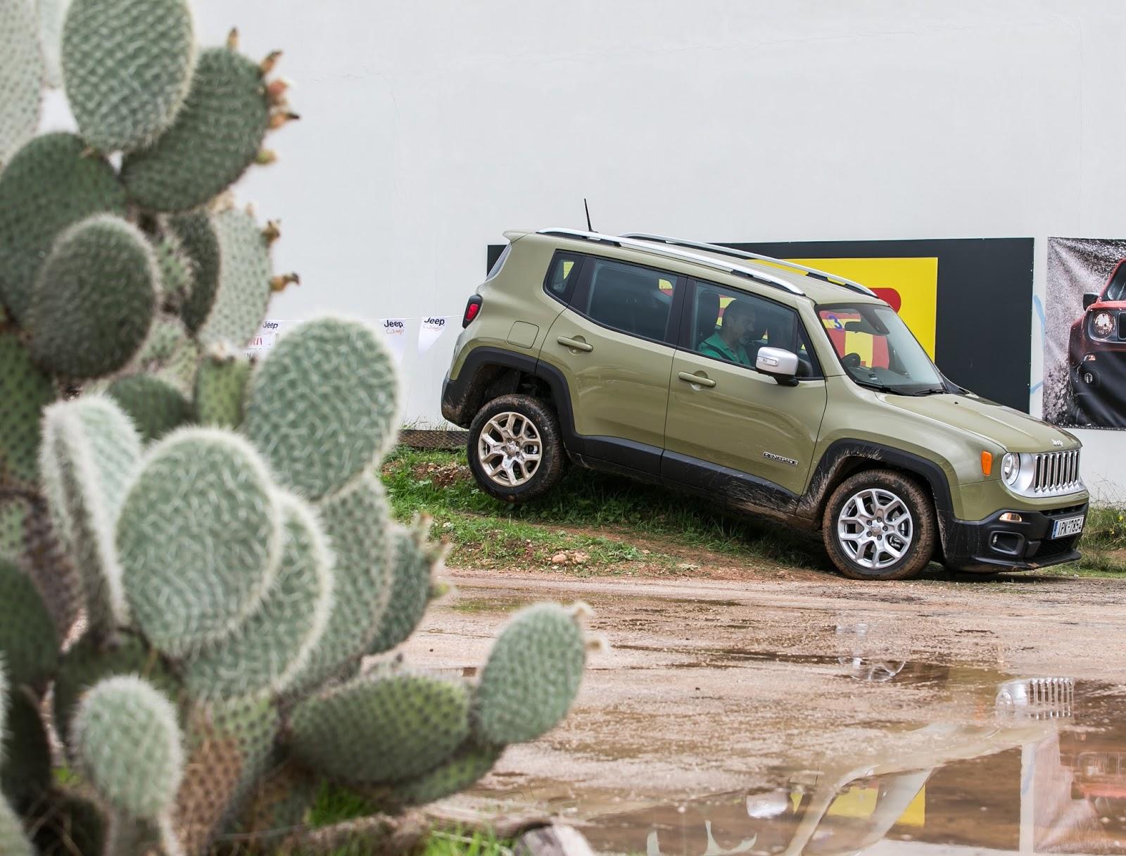 KF 1630 Πετάμε ένα Jeep Renegade σε λάσπες, πέτρες, άμμο, λίμνες. Θα τα καταφέρει; Jeep, Jeep Renegade, Renegade, SUV, TEST, zblog, ΔΟΚΙΜΕΣ