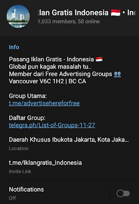 Indonesia local group info