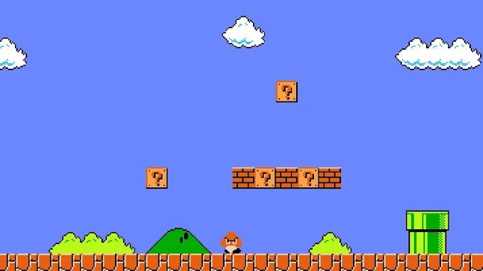 Mario Game Plano de Fundo Hd