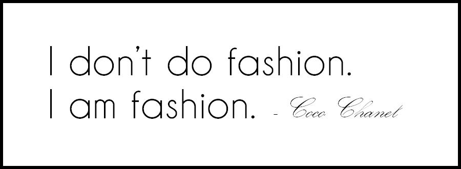 cytaty o modzie, cytat coco chanel, fashion quotes