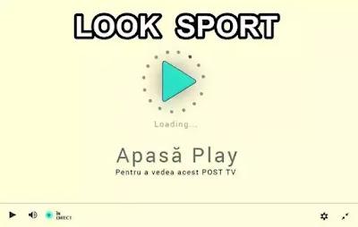 vezi look sport tv online live fara sa instalezi nimic pe telefon laprtop pc