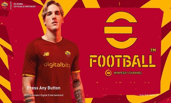 PES 2017 Graphic Menu AS Roma eFootball 2022