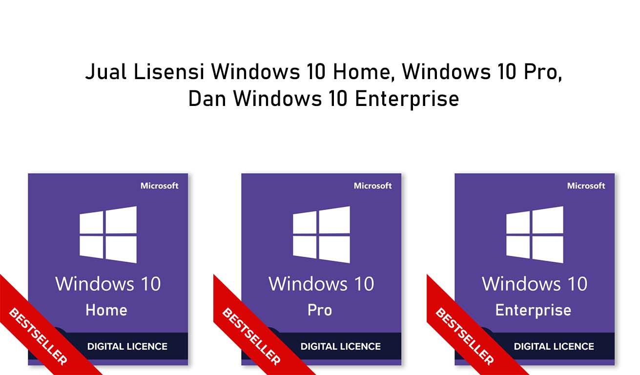 jual lisensi windows 10