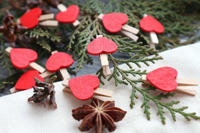 Деревянные декоративные мини-прищепки