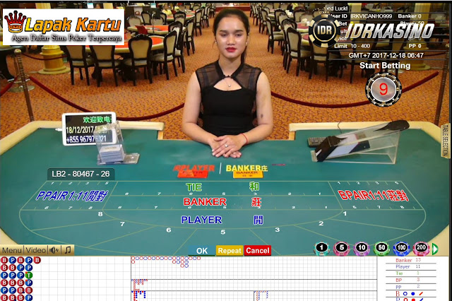 Cara Bermain Curang Permainan Baccarat di Kasino Online