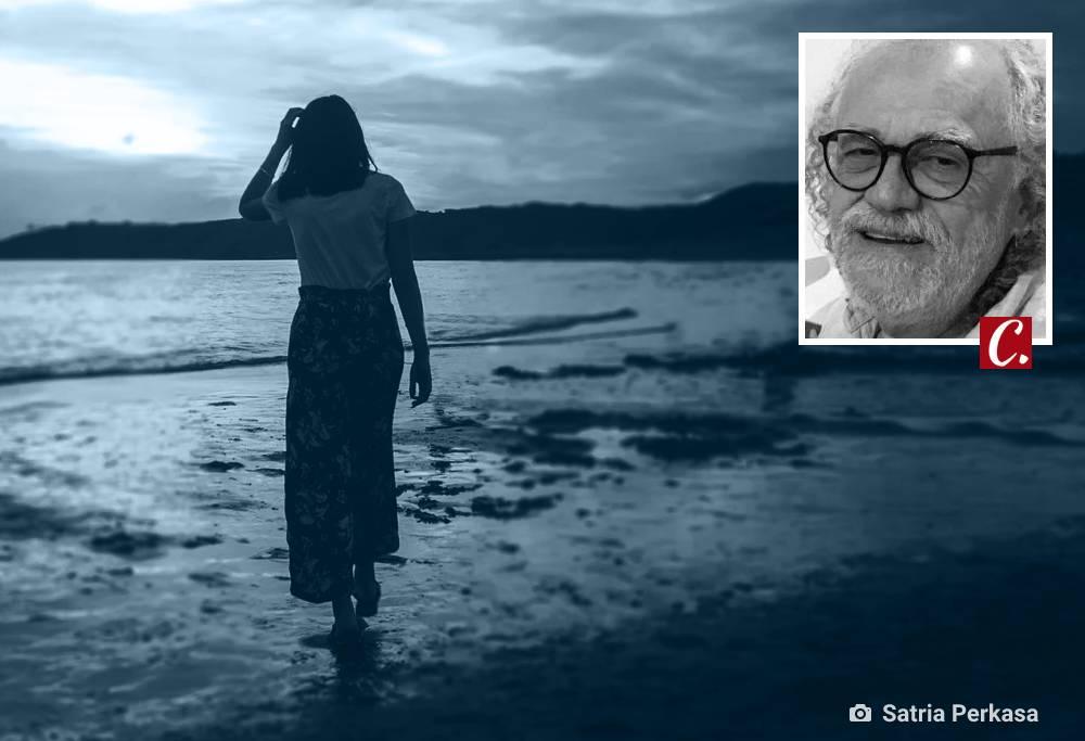 ambiente de leitura carlos romero conto romance ficção praia noite frank sinatra música flerte
