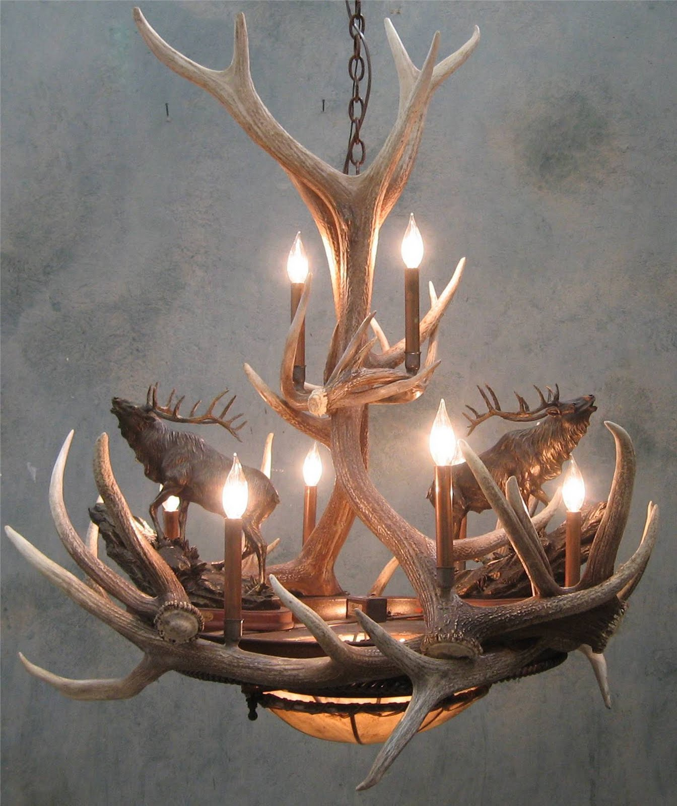 Do you want to make your own antler chandelier for How to make your own chandelier