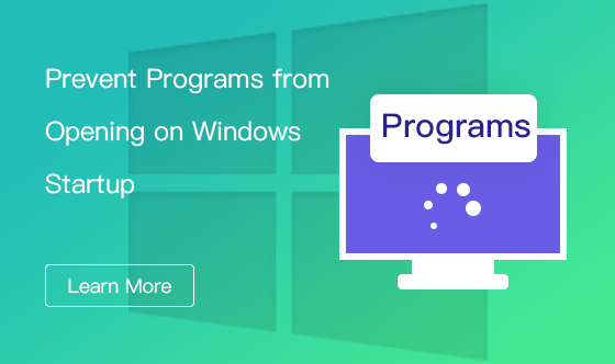 prevent programs from opening on Windows startup