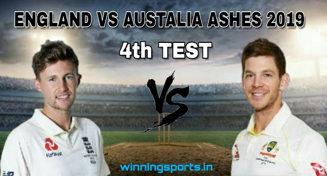 Dream11 team for England vs Australia 4th Test Match | Playing 11 | Fantasy cricket tips | The Ashes 2019 dream11 team | dream11 prediction |