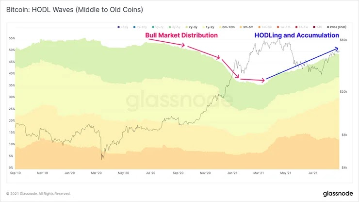 Bitcoin HODL-волны