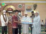 Mesra Sambangi Masjid Jami' Nurul Huda Silaing Bawah, Serahkan Bantuan Rp 20 Juta