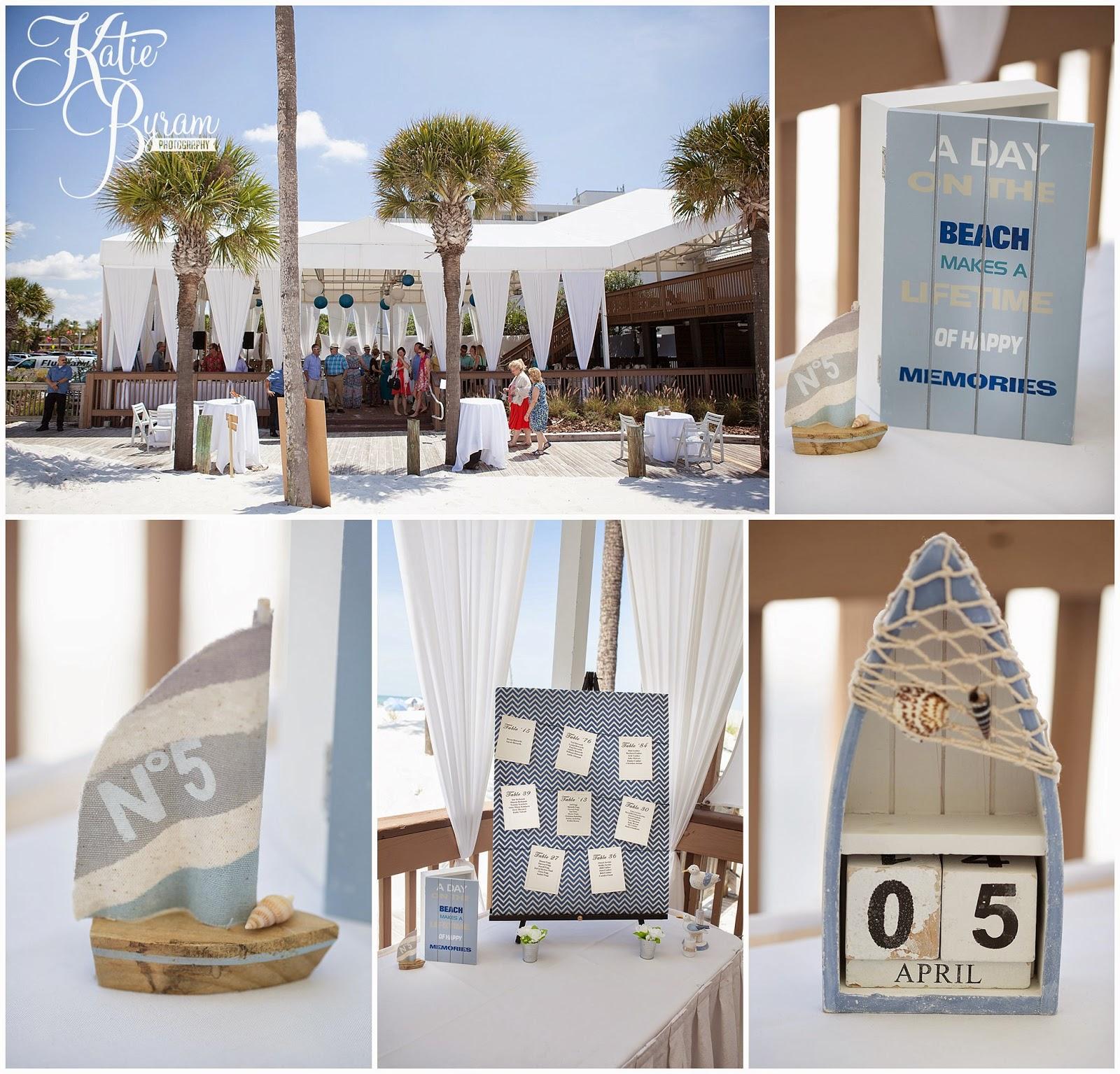 Beach Wedding Centrepieces Decorations Destination Clearwater
