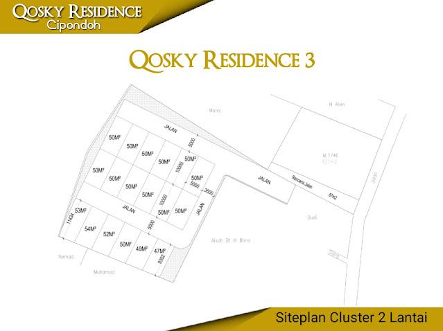 rumah cluster qosky cipondoh