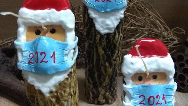 Θα δούμε Άι Βασίληδες με...μάσκες τα φετινά Χριστούγεννα;