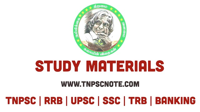 10th Std Social Science Kalaam Vithaikal TNPSC Study Materials