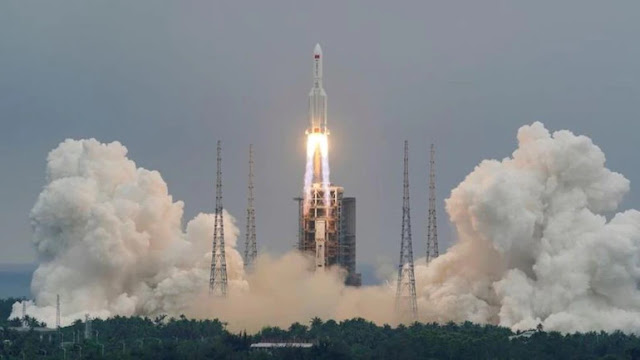 China Says Its Rocket Debris Unlikely to Cause Any Harm - Space News