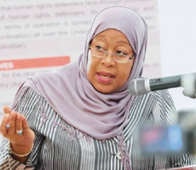 Tanzania's Vice President to be sworn in as president making her the country's first female President