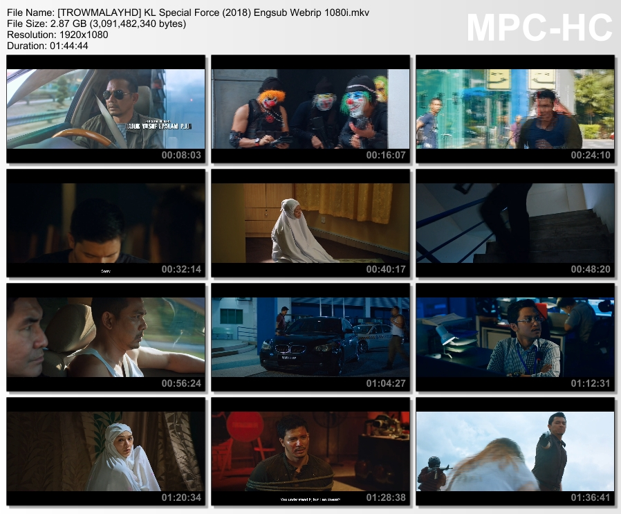 Kl Special Force Full Movie 2018
