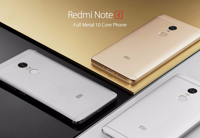 Spesifikasi dan Harga Xiaomi Redmi Note 4