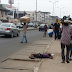 Photos: Road Users Unbothered As Teenage Girl Lays Lifeless In Mushin, Lagos...