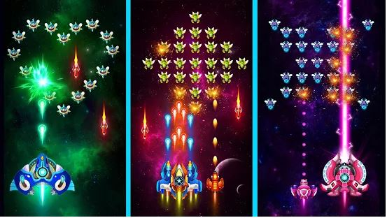 Download Space Shooter: Galaxy Attack MOD APK 1.394 (Unlimited Money) For Android 3