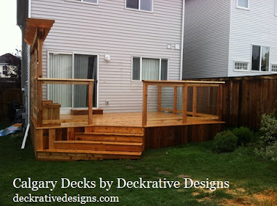 calgary deck pricing