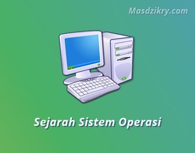 Sejarah sistem operasi komputer