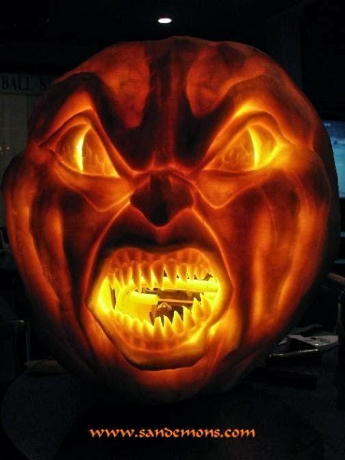 Pumpkin Carving Ideas For Halloween 2018: More Crazy