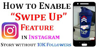 How To Add Swipe Up Link In Instagram?