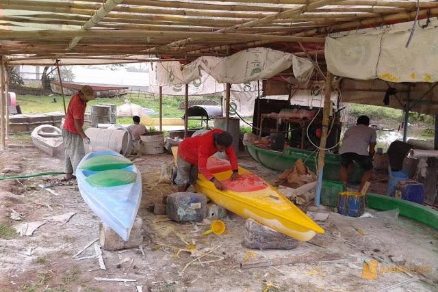 cara mengunakan perahu kano indian