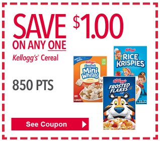 coupons kelloggs cereal