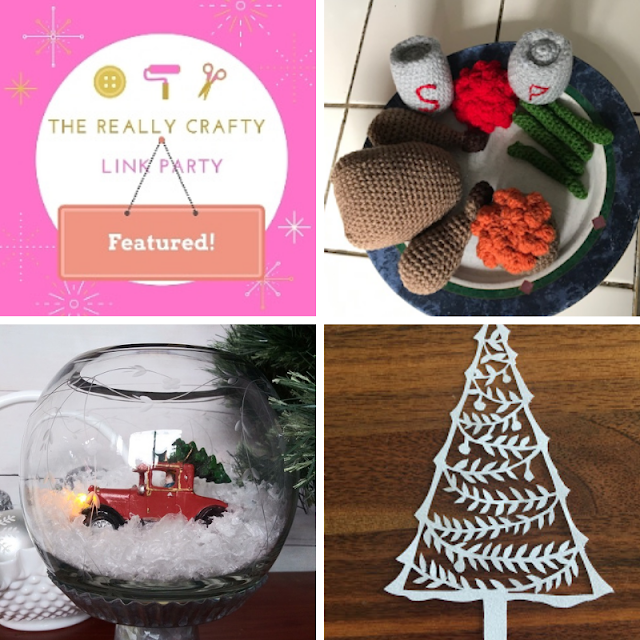 The Really Crafty Link Party #240 featured posts