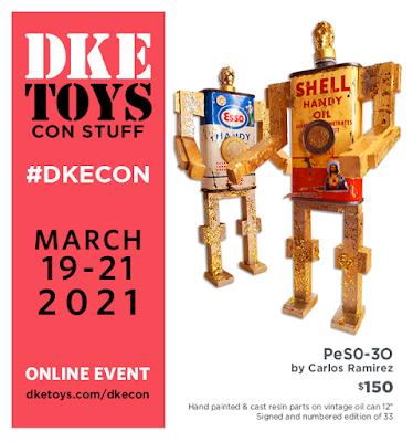 DKECON 2021 Exclusive Star Wars PeS0-3O Resin Figure by Carlos Ramirez x DKE Toys