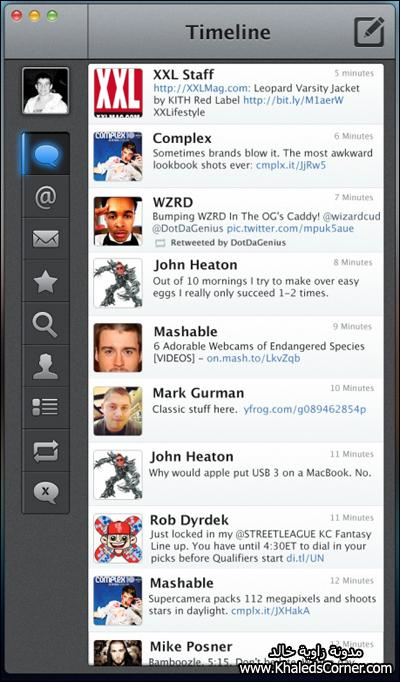 b97c5b72f283c برنامج Tweetbot من افضل البرامج الخاصة بموقع تويتر على الايفون والايباد ..  ومن المتوقع ان يتم إطلاق نسخة خاصة من البرنامج لاجهزة الماك قريبا .