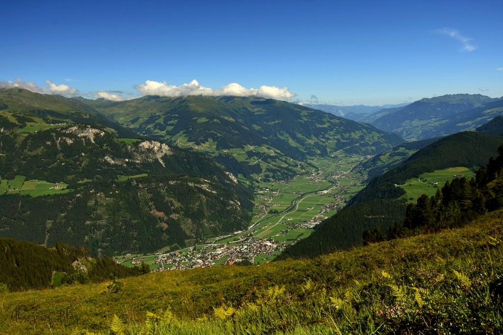 Alpejski Ogród Kwiatowy w Kitzbühel.