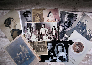 collage of family photos