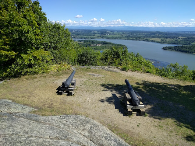 Mt. Defiance overlooking Fort Ticonderoga in New York
