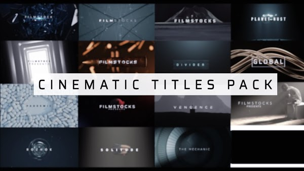Filmstocks Cinematic Titles Pack | Filmora Collection