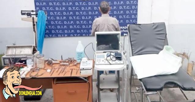 Policía descubre clínica clandestina de abortos en Prados del Este