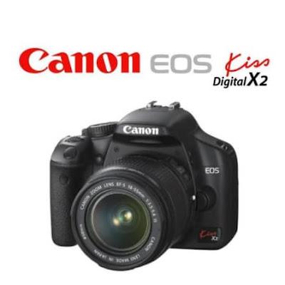 Canon EOS Kiss X2 DSLR Firmware Full Driversをダウンロード