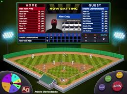 Action Math Baseball game screen