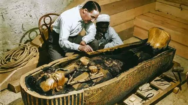 Discovery Tutankhamun tomb