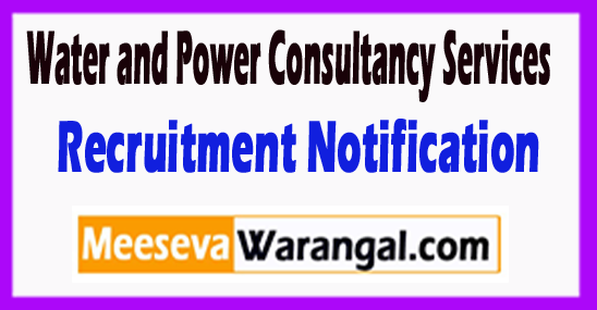 WAPCOS Water and Power Consultancy Services Recruitment Notification 2017