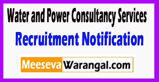 WAPCOS Water and Power Consultancy Services Recruitment Notification 2017 Last Date 30-06-2017