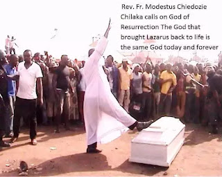 , Miracluous! Nigerian Pastor raised the dead, Latest Nigeria News, Daily Devotionals & Celebrity Gossips - Chidispalace