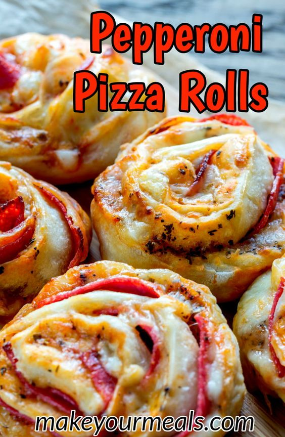 The Most Inspiring Pizza Rolls