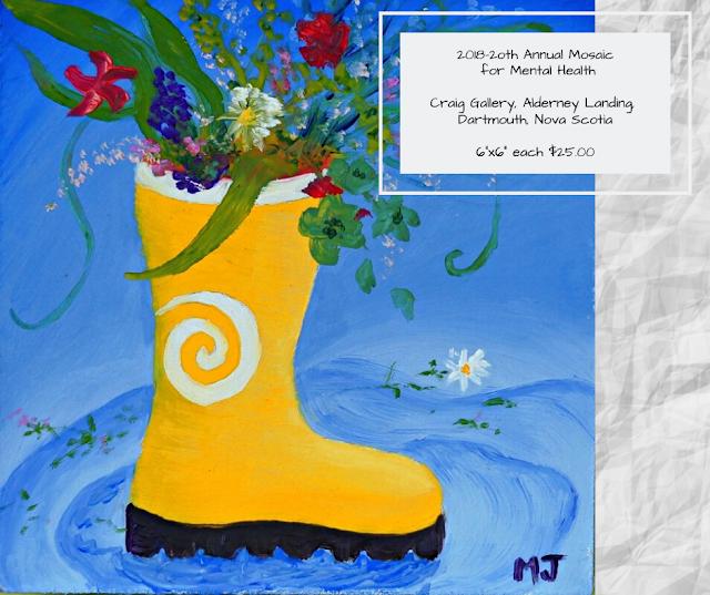 2018 Mosaic For Mental Health * Season Spring by Minaz Jantz