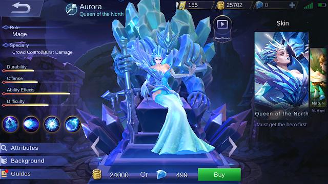 Aurora Mobile Legends
